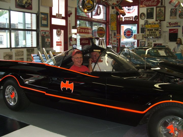 Batmobile visits Jerry's Museum