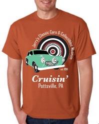 Orange Museum T-shirt