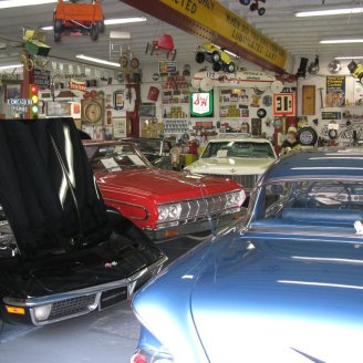 Some of the car collection