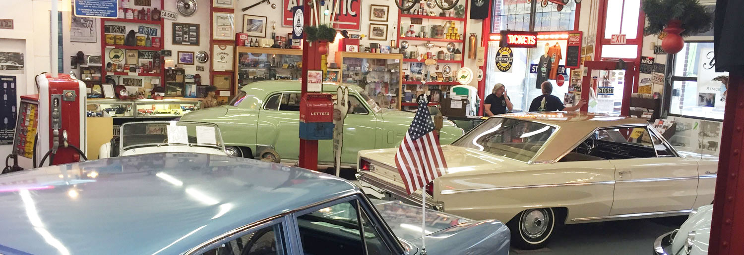 Jerrys Classic Cars Collectibles Museum The Areas First - Classic car museum